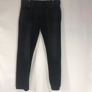 Lucky Brand Black 221 Original Straight Jeans
